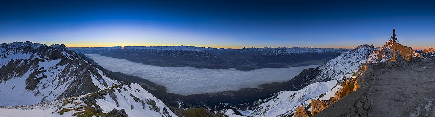 Innsbruck Sonnenaufgang