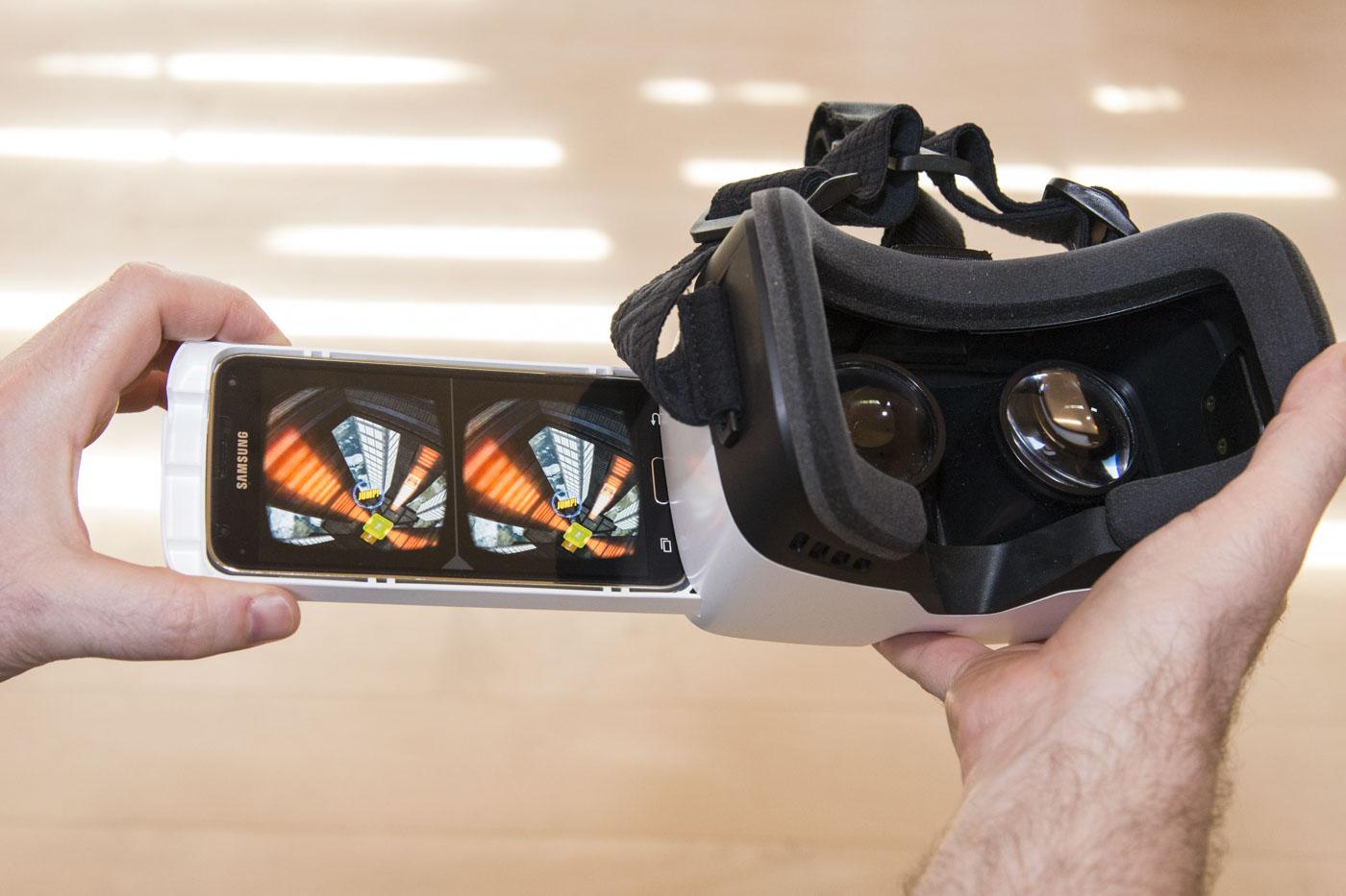 Virtual Reality am Smartphone
